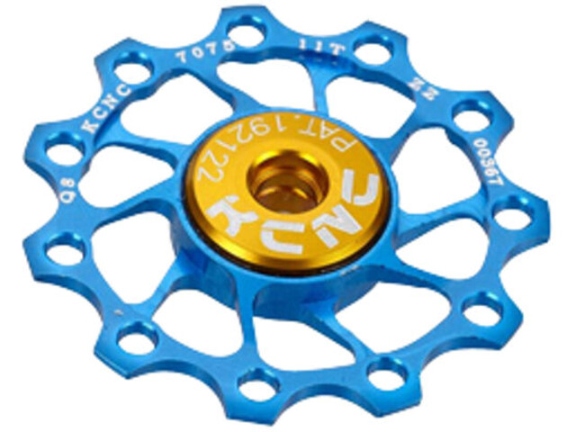 KCNC Jockey Wheel Ultra 11 tænder SS Bearing, blue